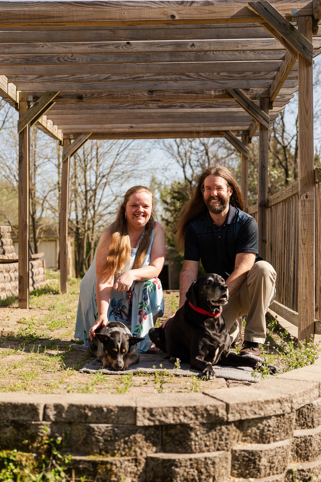 Heather and Dan Witcher - Brittany Lynn Imagery LLC - St Charles MO Photographer -1