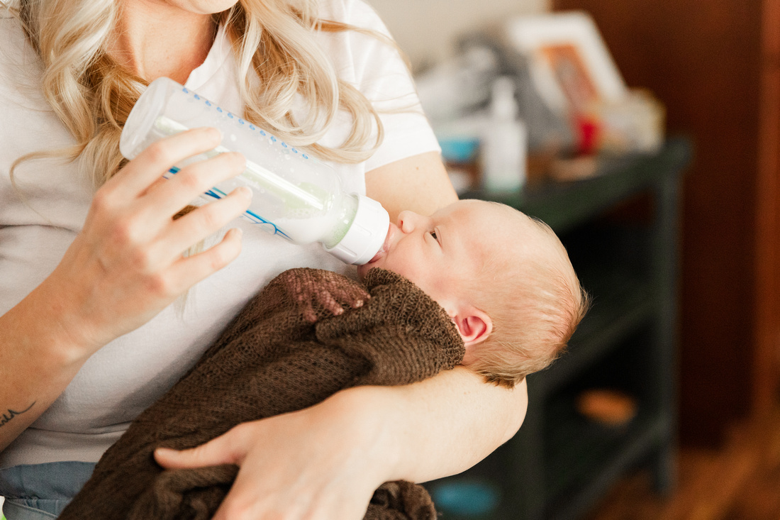 Finley Roy - Lifestyle In-Home Newborn Session - Brittany Lynn Imagery LLC - St Charles MO Photographer -7
