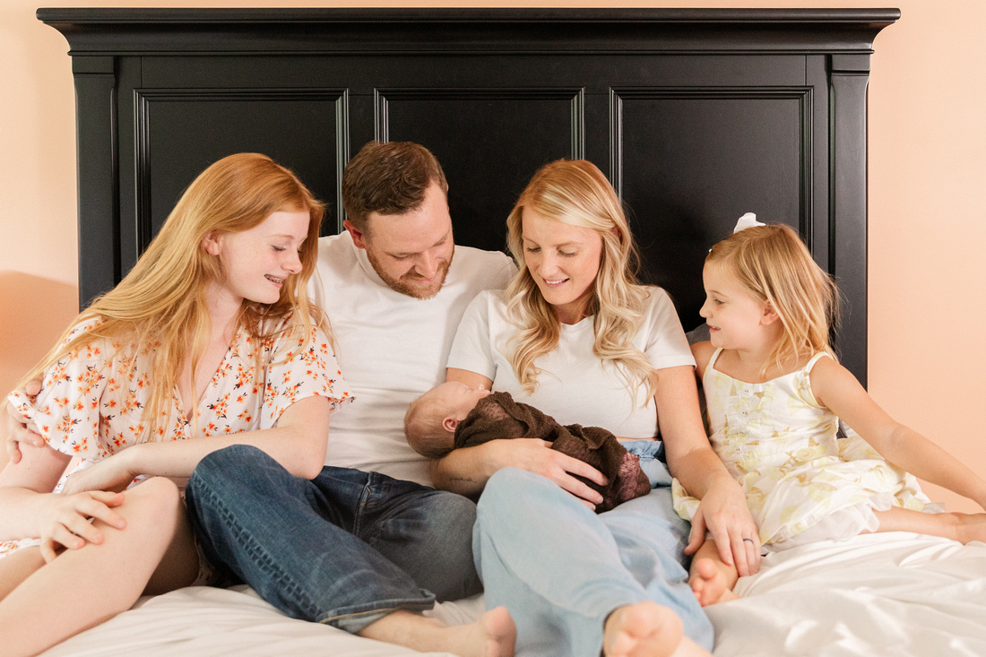 Finley Roy - Lifestyle In-Home Newborn Session - Brittany Lynn Imagery LLC - St Charles MO Photographer -10