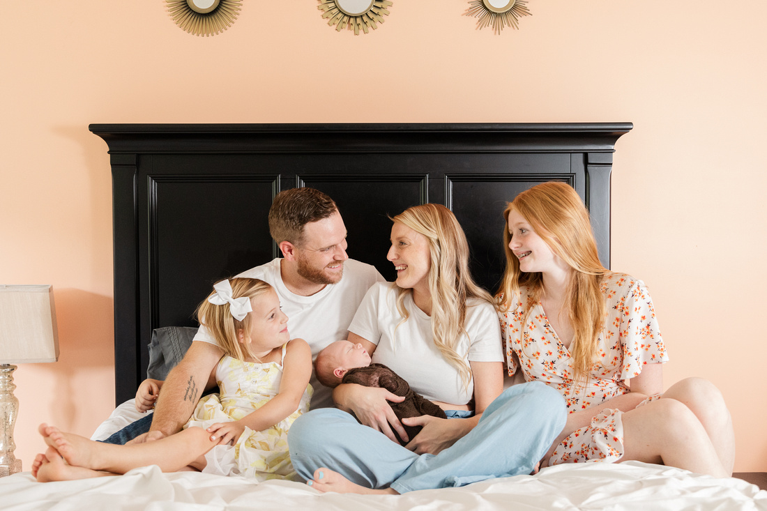 Finley Roy - Lifestyle In-Home Newborn Session - Brittany Lynn Imagery LLC - St Charles MO Photographer -12
