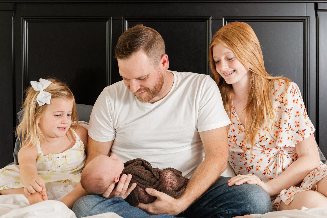 Finley Roy - Lifestyle In-Home Newborn Session - Brittany Lynn Imagery LLC - St Charles MO Photographer -37