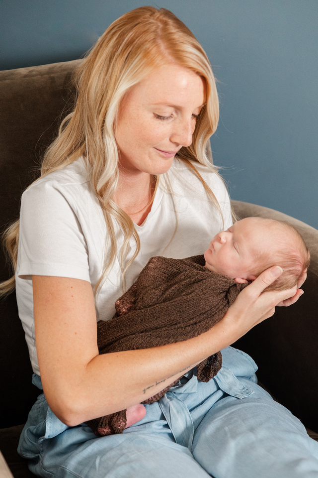Finley Roy - Lifestyle In-Home Newborn Session - Brittany Lynn Imagery LLC - St Charles MO Photographer -41