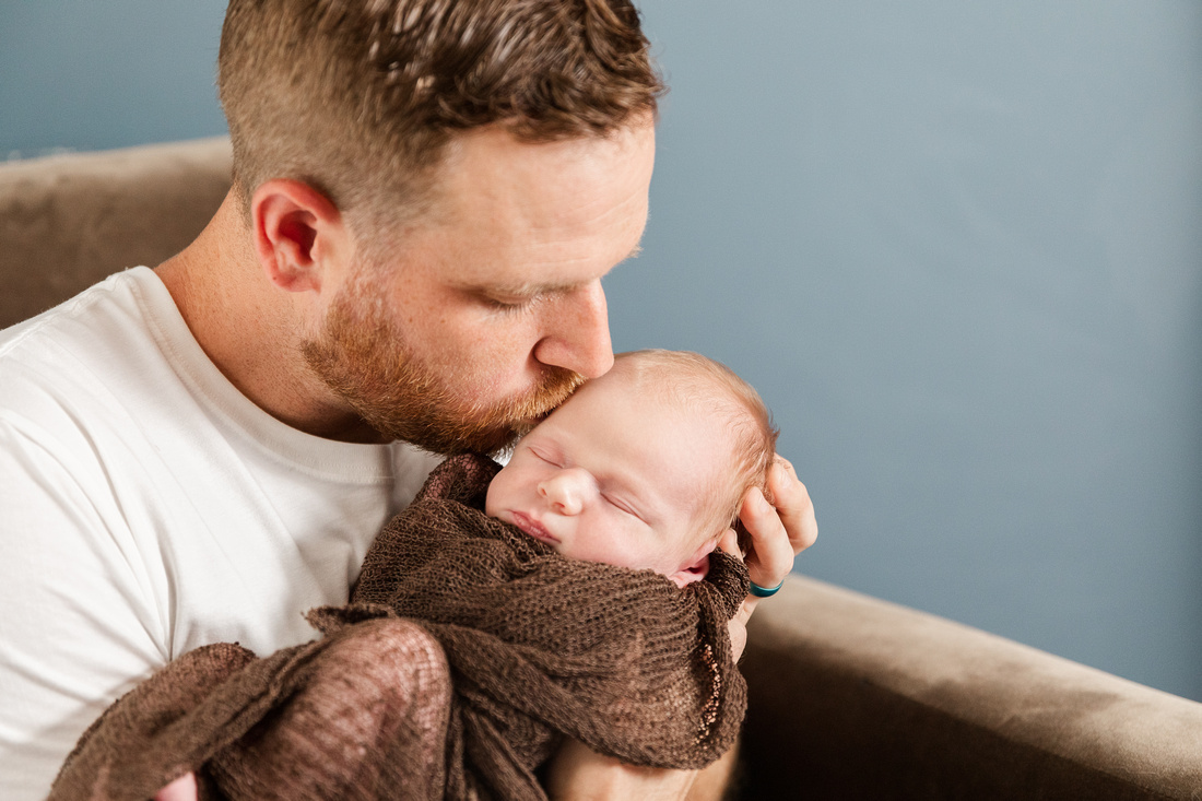 Finley Roy - Lifestyle In-Home Newborn Session - Brittany Lynn Imagery LLC - St Charles MO Photographer -57