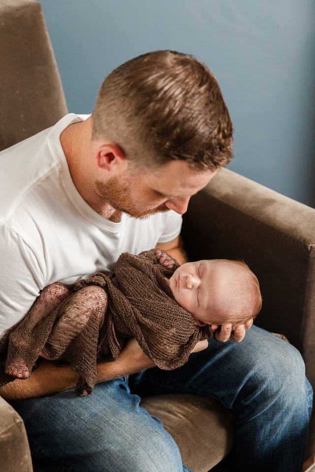 Finley Roy - Lifestyle In-Home Newborn Session - Brittany Lynn Imagery LLC - St Charles MO Photographer -59
