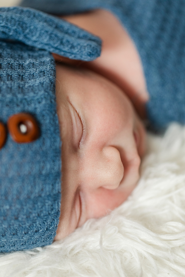 Finley Roy - Lifestyle In-Home Newborn Session - Brittany Lynn Imagery LLC - St Charles MO Photographer -71