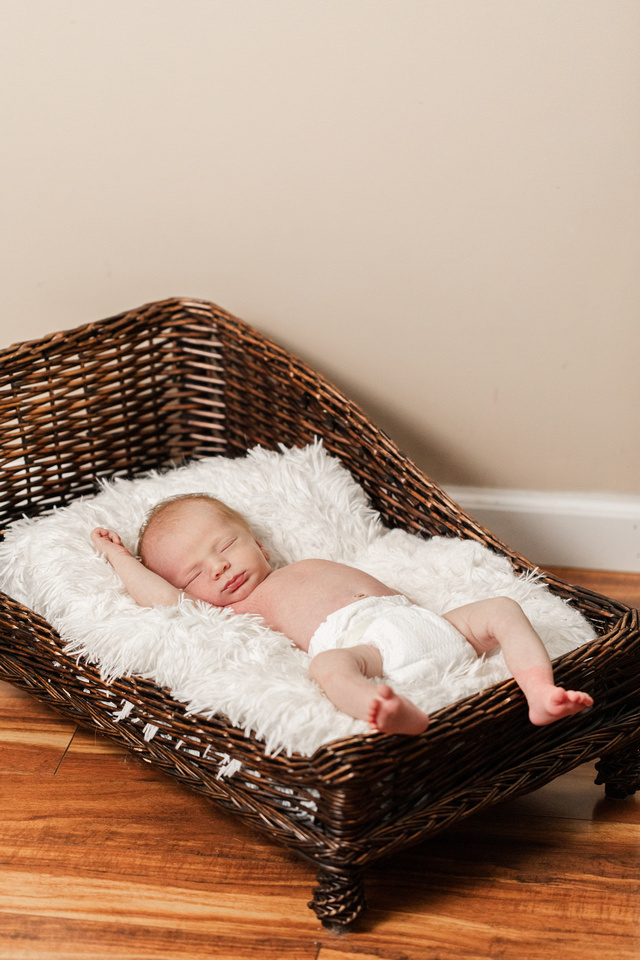 Finley Roy - Lifestyle In-Home Newborn Session - Brittany Lynn Imagery LLC - St Charles MO Photographer -72