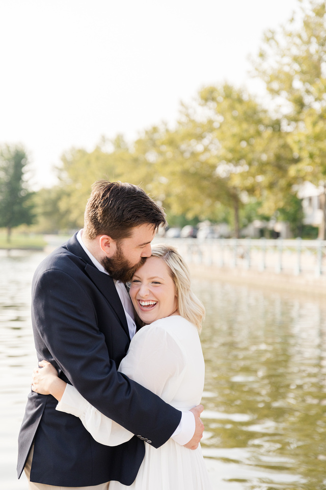 Sydney and John Engagement Session - New Town - Brittany Lynn Imagery LLC - St Charles MO Photographer -6