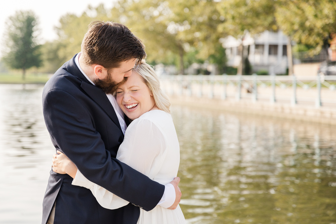 Sydney and John Engagement Session - New Town - Brittany Lynn Imagery LLC - St Charles MO Photographer -7