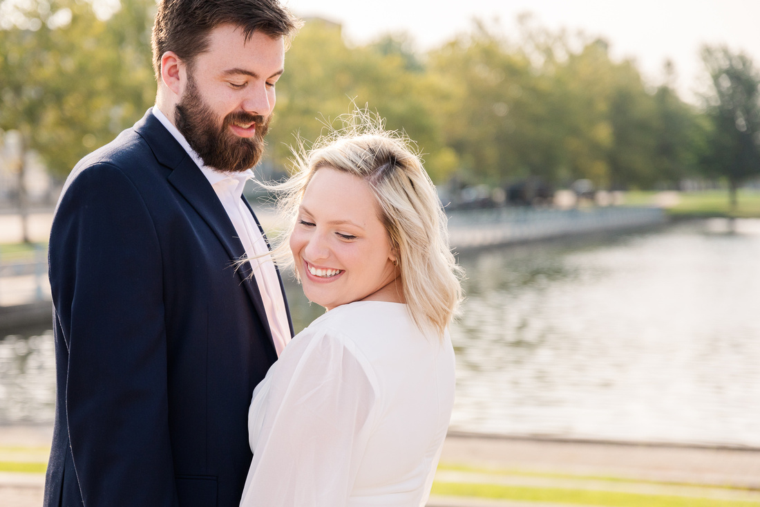 Sydney and John Engagement Session - New Town - Brittany Lynn Imagery LLC - St Charles MO Photographer -12