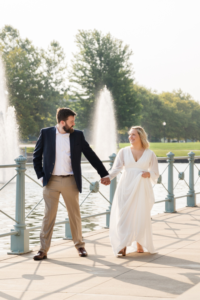 Sydney and John Engagement Session - New Town - Brittany Lynn Imagery LLC - St Charles MO Photographer -14