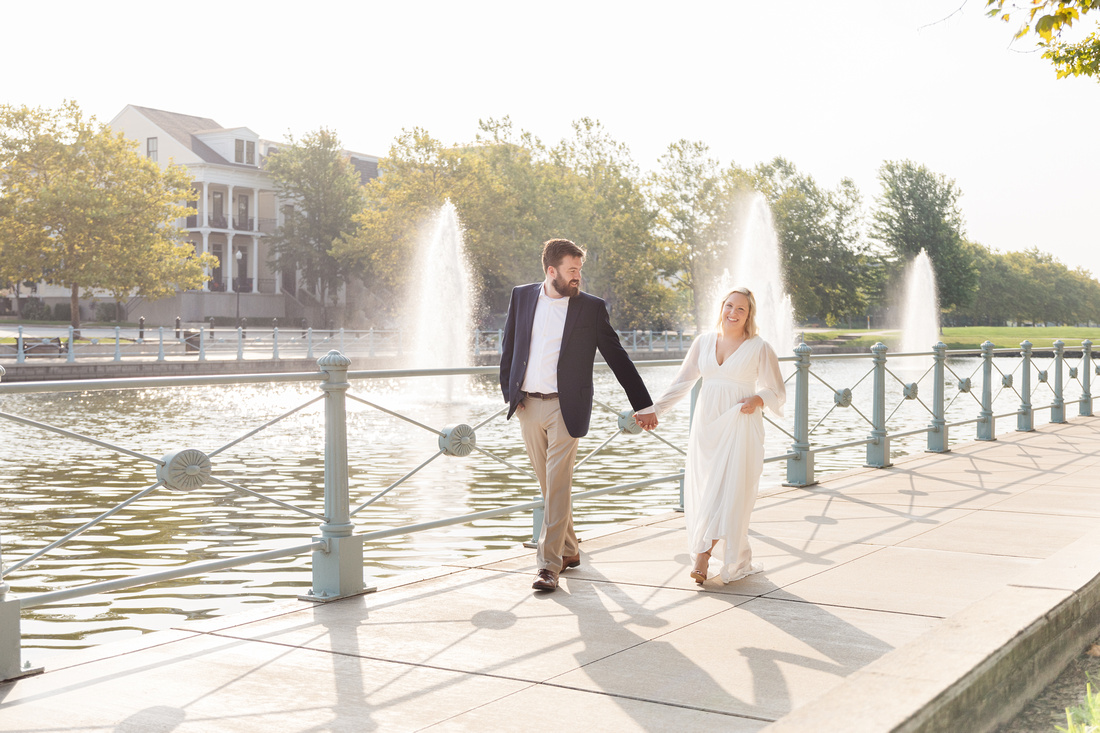 Sydney and John Engagement Session - New Town - Brittany Lynn Imagery LLC - St Charles MO Photographer -16