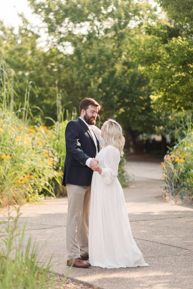 Sydney and John Engagement Session - New Town - Brittany Lynn Imagery LLC - St Charles MO Photographer -25