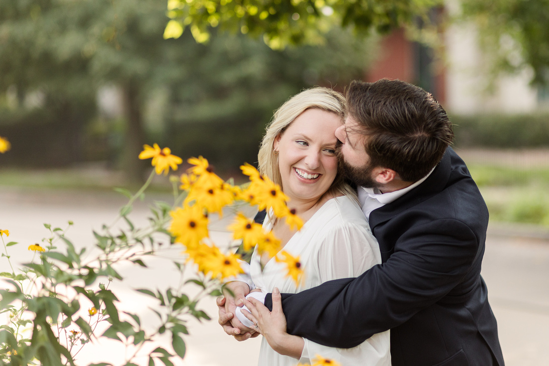 Sydney and John Engagement Session - New Town - Brittany Lynn Imagery LLC - St Charles MO Photographer -37