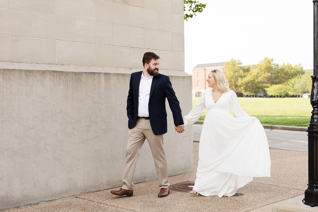 Sydney and John Engagement Session - New Town - Brittany Lynn Imagery LLC - St Charles MO Photographer -57