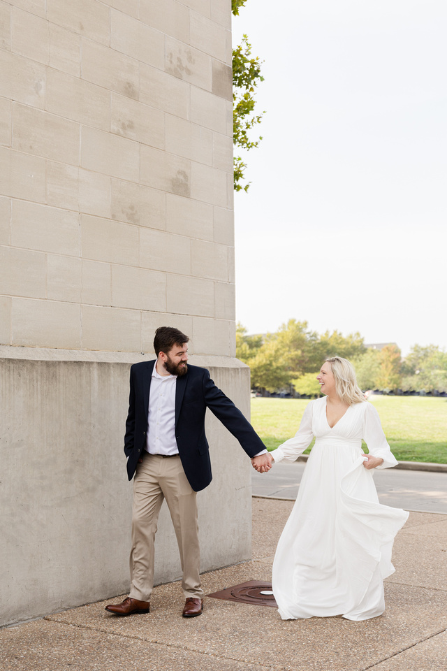 Sydney and John Engagement Session - New Town - Brittany Lynn Imagery LLC - St Charles MO Photographer -59