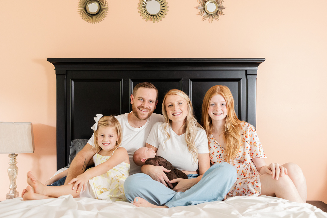 Finley Roy - Lifestyle In-Home Newborn Session - Brittany Lynn Imagery LLC - St Charles MO Photographer -11