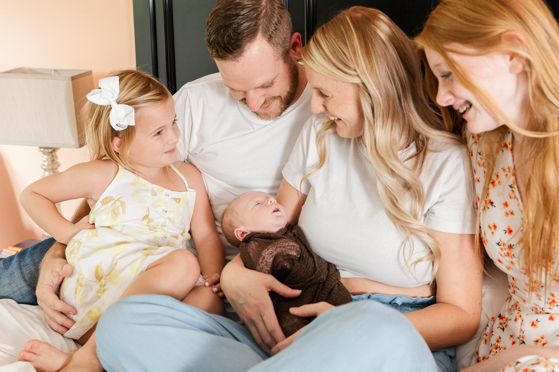 Finley Roy - Lifestyle In-Home Newborn Session - Brittany Lynn Imagery LLC - St Charles MO Photographer -16