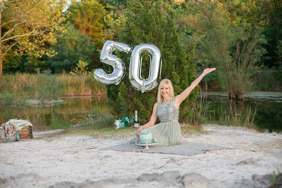 Brittany Lynn Imagery St. Charles MO Cake Smash 50th Birthday Aunt Susan-118