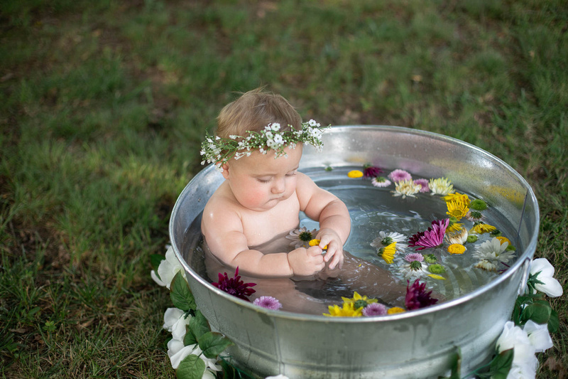 Sitter Session Wildflower Bath Mini Session St. Charles MO Photographer-0084