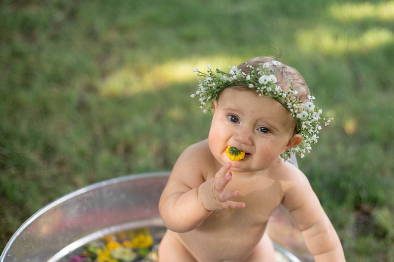 Sitter Session Wildflower Bath Mini Session St. Charles MO Photographer-0199