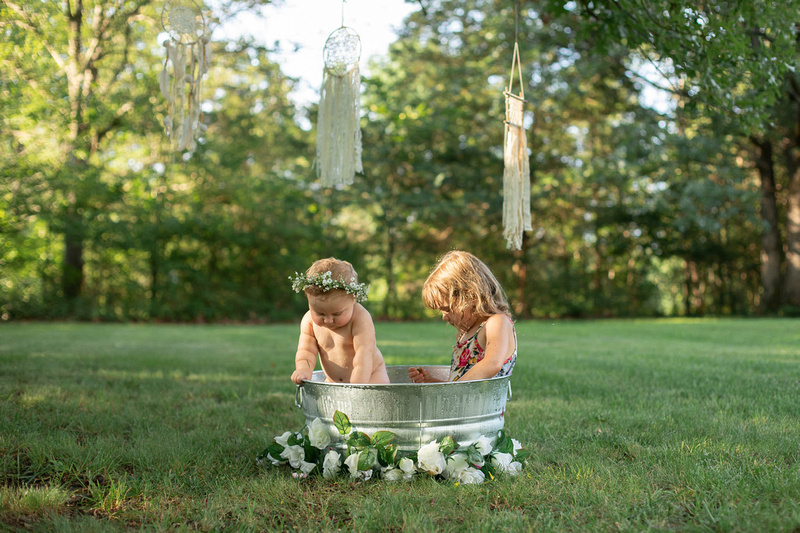 Sitter Session Wildflower Bath Mini Session St. Charles MO Photographer-0254
