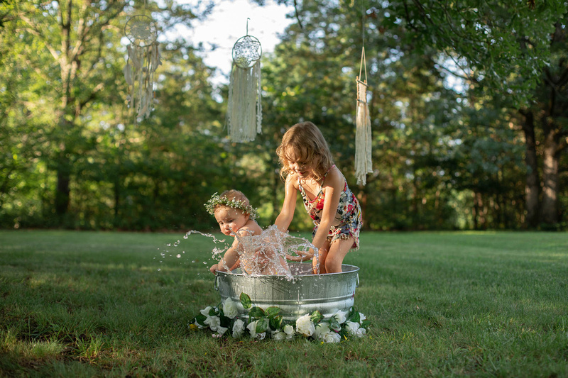 Sitter Session Wildflower Bath Mini Session St. Charles MO Photographer-0260