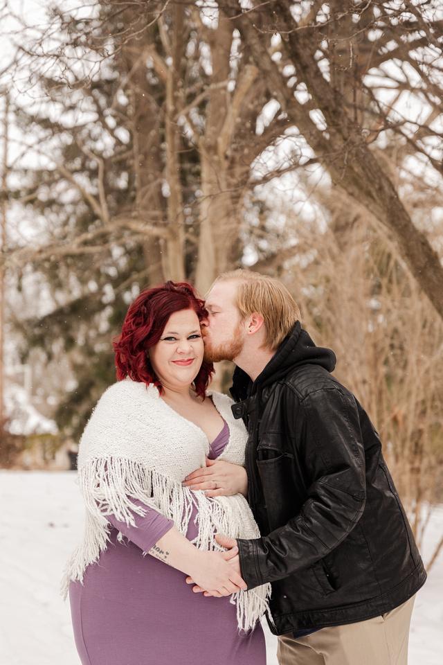 Henry - Blanchette Park Rau Garden - Winter Maternity - Brittany Lynn Imagery LLC - St Charles MO Photographer -6