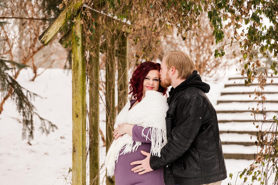 Henry - Blanchette Park Rau Garden - Winter Maternity - Brittany Lynn Imagery LLC - St Charles MO Photographer -15
