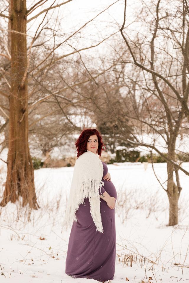 Henry - Blanchette Park Rau Garden - Winter Maternity - Brittany Lynn Imagery LLC - St Charles MO Photographer -24