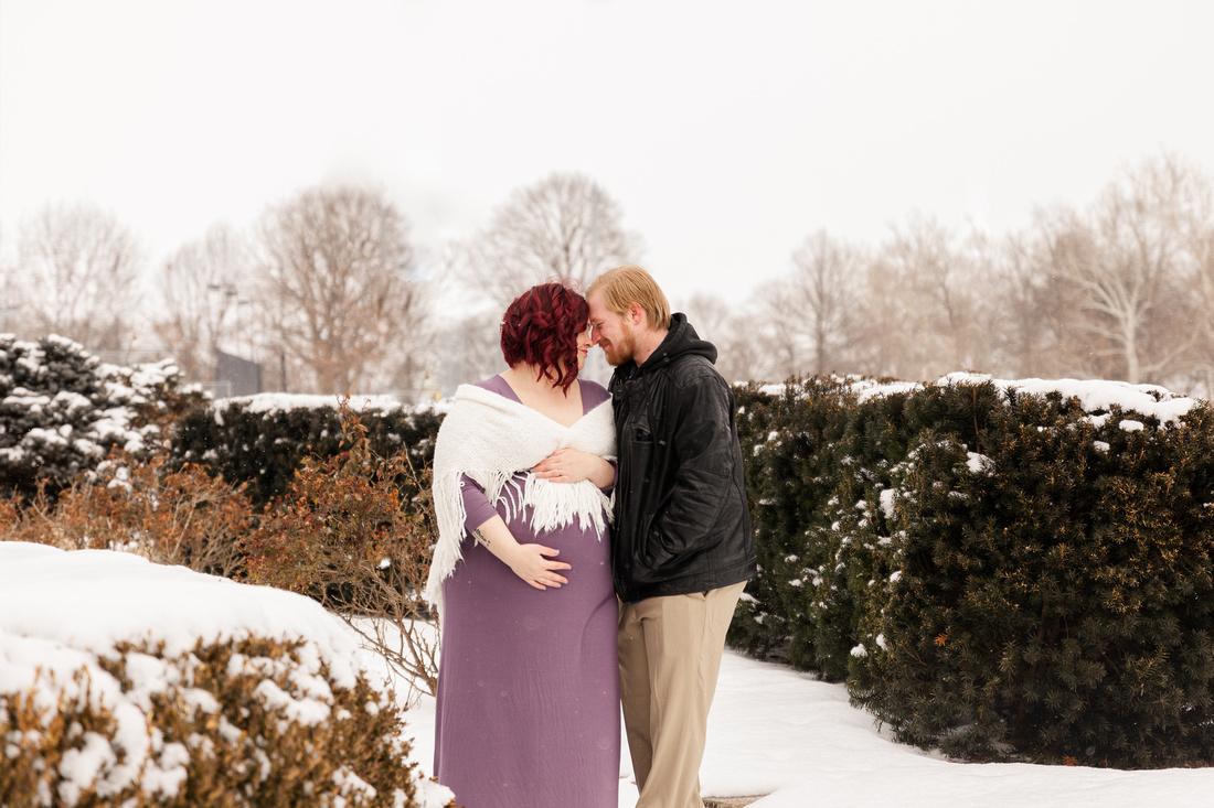 Henry - Blanchette Park Rau Garden - Winter Maternity - Brittany Lynn Imagery LLC - St Charles MO Photographer -27