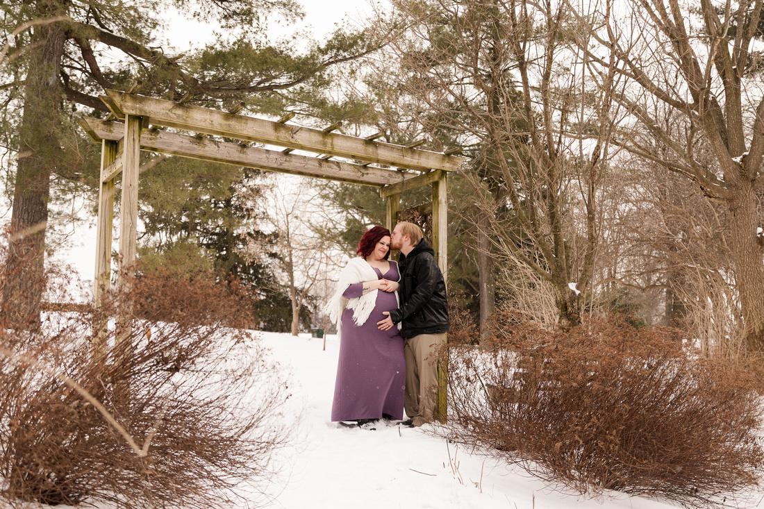 Henry - Blanchette Park Rau Garden - Winter Maternity - Brittany Lynn Imagery LLC - St Charles MO Photographer -31