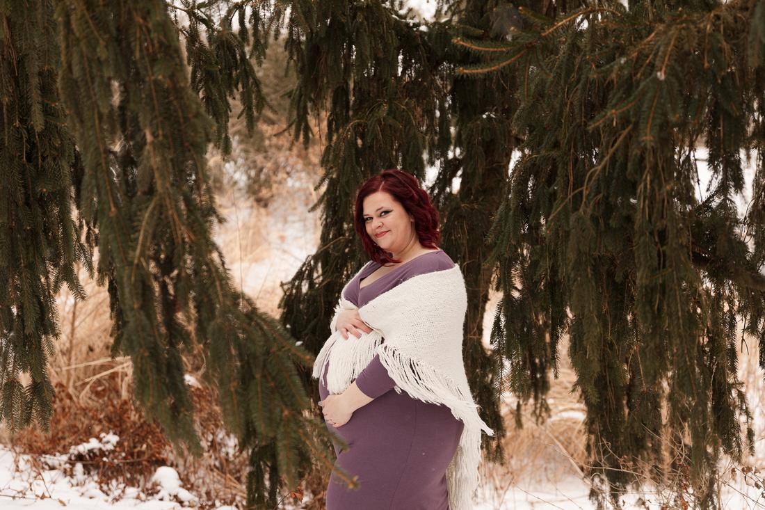Henry - Blanchette Park Rau Garden - Winter Maternity - Brittany Lynn Imagery LLC - St Charles MO Photographer -35
