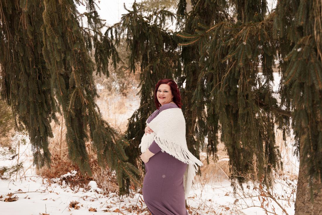 Henry - Blanchette Park Rau Garden - Winter Maternity - Brittany Lynn Imagery LLC - St Charles MO Photographer -42