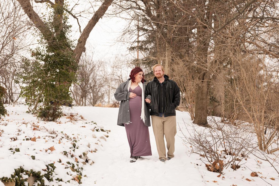 Henry - Blanchette Park Rau Garden - Winter Maternity - Brittany Lynn Imagery LLC - St Charles MO Photographer -48