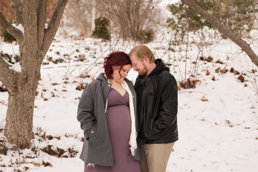 Henry - Blanchette Park Rau Garden - Winter Maternity - Brittany Lynn Imagery LLC - St Charles MO Photographer -51