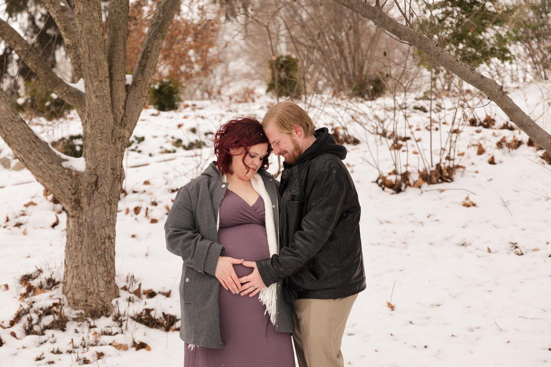 Henry - Blanchette Park Rau Garden - Winter Maternity - Brittany Lynn Imagery LLC - St Charles MO Photographer -52