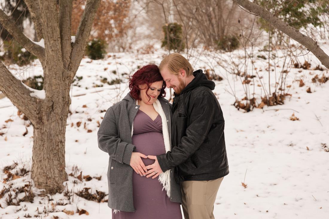 Henry - Blanchette Park Rau Garden - Winter Maternity - Brittany Lynn Imagery LLC - St Charles MO Photographer -53
