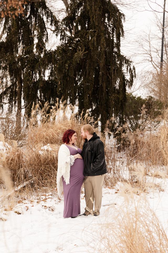 Henry - Blanchette Park Rau Garden - Winter Maternity - Brittany Lynn Imagery LLC - St Charles MO Photographer -58