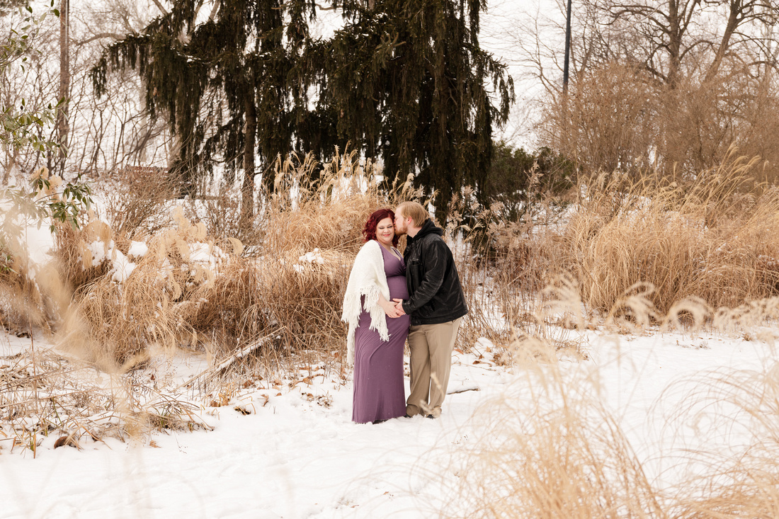 Henry - Blanchette Park Rau Garden - Winter Maternity - Brittany Lynn Imagery LLC - St Charles MO Photographer -59