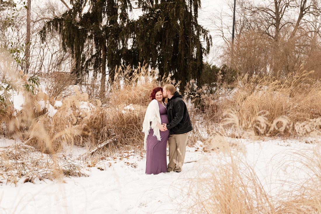 Henry - Blanchette Park Rau Garden - Winter Maternity - Brittany Lynn Imagery LLC - St Charles MO Photographer -60
