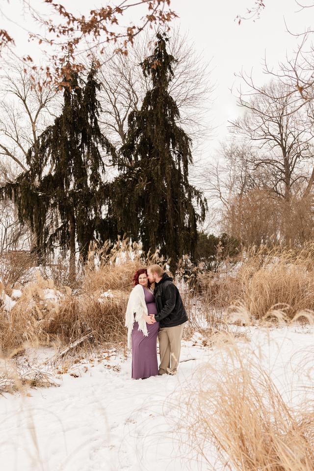 Henry - Blanchette Park Rau Garden - Winter Maternity - Brittany Lynn Imagery LLC - St Charles MO Photographer -61