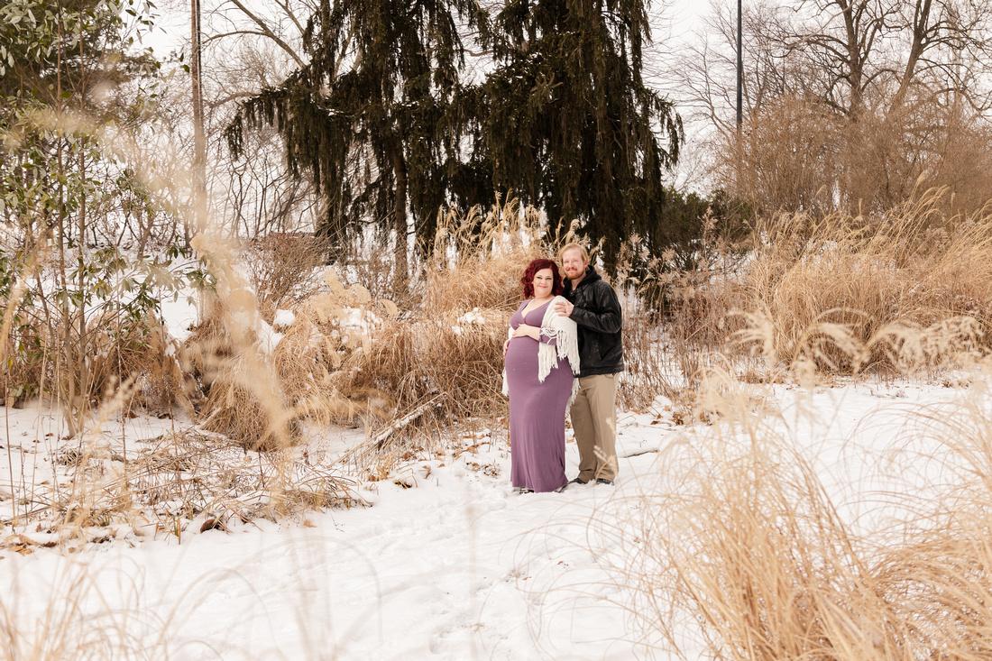 Henry - Blanchette Park Rau Garden - Winter Maternity - Brittany Lynn Imagery LLC - St Charles MO Photographer -62
