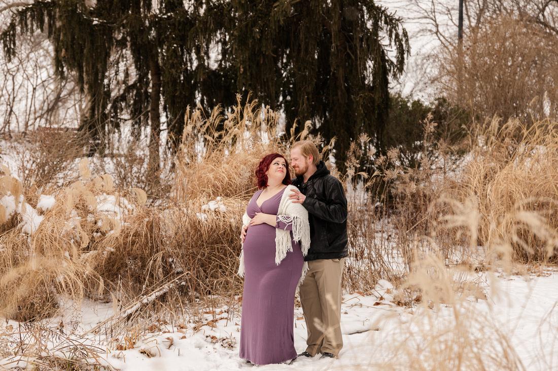 Henry - Blanchette Park Rau Garden - Winter Maternity - Brittany Lynn Imagery LLC - St Charles MO Photographer -63