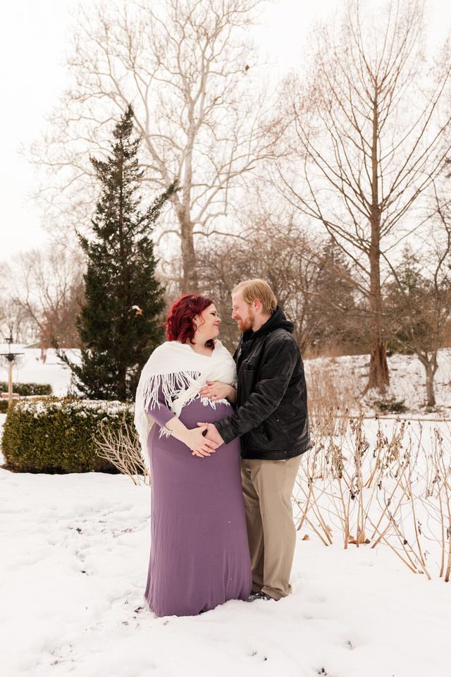 Henry - Blanchette Park Rau Garden - Winter Maternity - Brittany Lynn Imagery LLC - St Charles MO Photographer -72