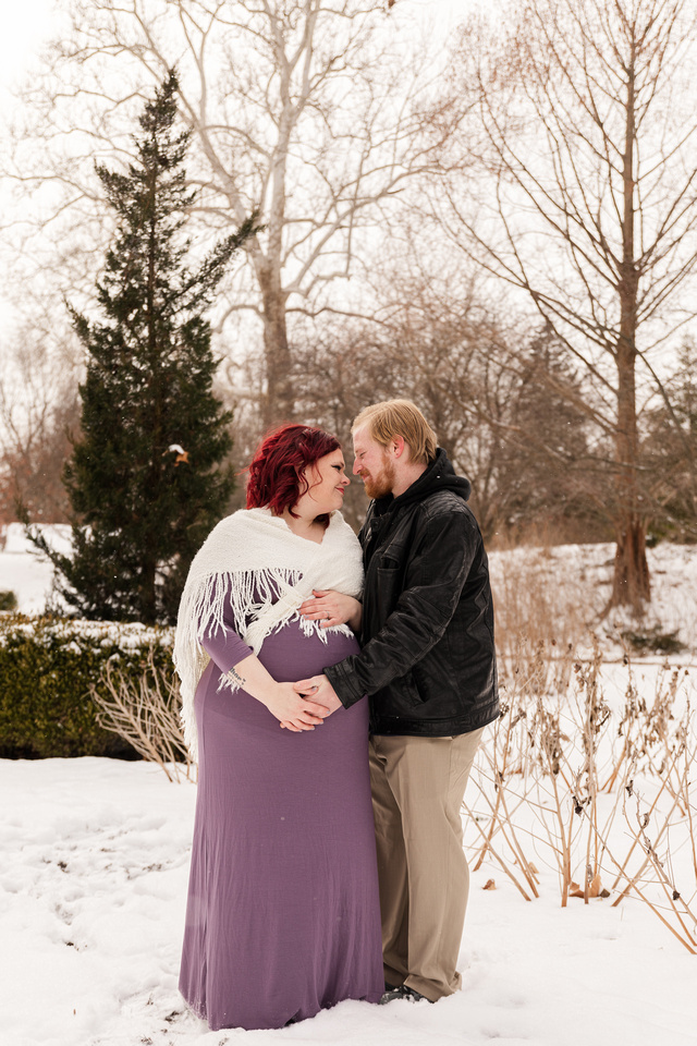 Henry - Blanchette Park Rau Garden - Winter Maternity - Brittany Lynn Imagery LLC - St Charles MO Photographer -74