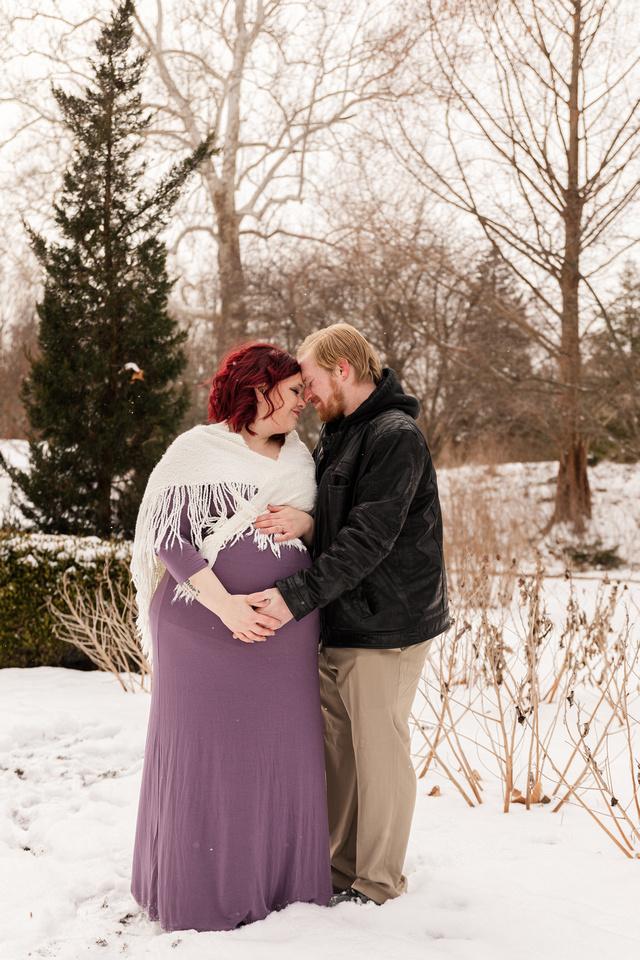 Henry - Blanchette Park Rau Garden - Winter Maternity - Brittany Lynn Imagery LLC - St Charles MO Photographer -75