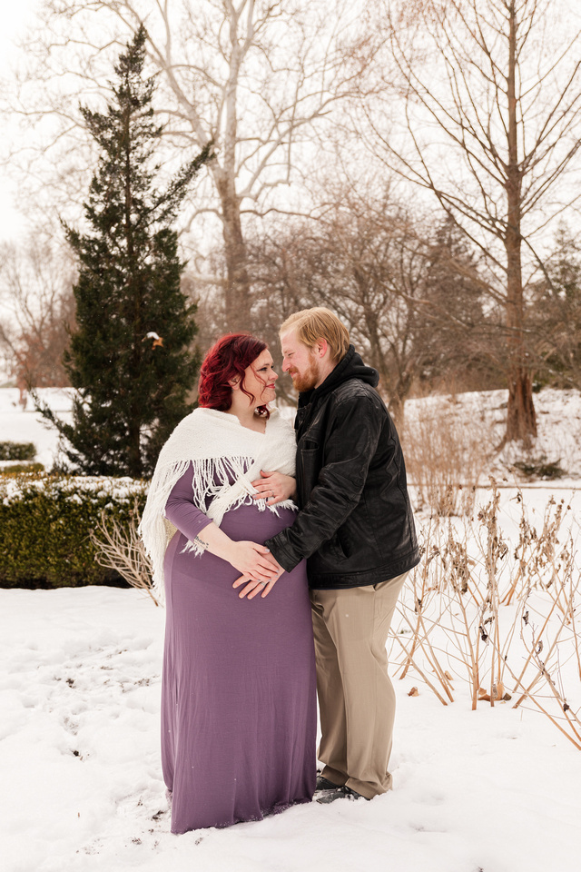 Henry - Blanchette Park Rau Garden - Winter Maternity - Brittany Lynn Imagery LLC - St Charles MO Photographer -80