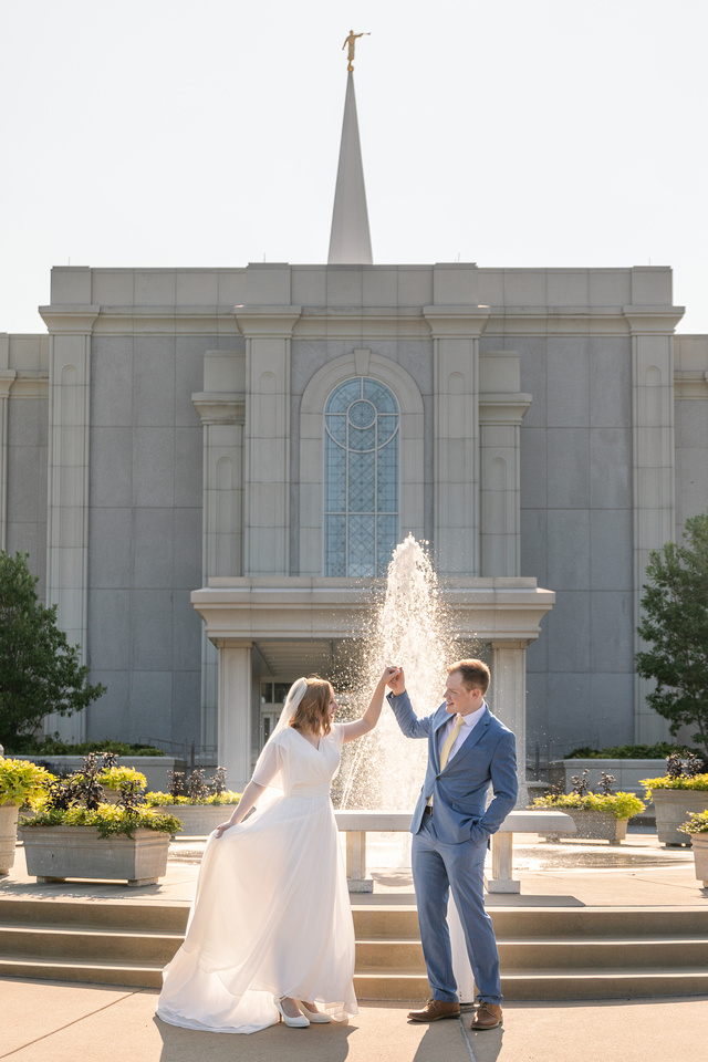 Carolyn and Chris - LDS STL Temple - Brittany Lynn Imagery LLC - St Charles MO Photographer -37